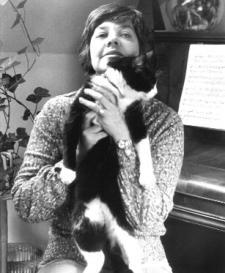 María Elena Walsh en 1971, foto de