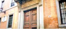 Real Academia de la Historia (puerta de entrada, y de salida)