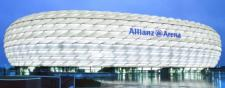 El estadio Allianz Arena