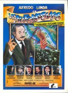Cartel de la película Las Autonosuyas, del director Rafael Gil en 1983