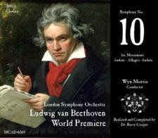 Cubierta del CD de la supuesta Décima Sinfonía de Beethoven