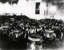 Imagen de la Bolsa de Nueva York en 1930