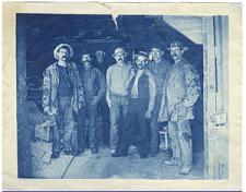 Mineros de Comstock en 1880 (foto wikipedia)