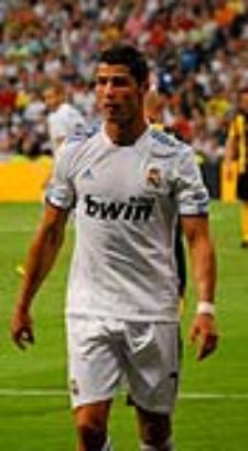 Cristiano Ronaldo en agosto de 2010, foto de Jan Solo (fuente: wikipedia)