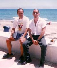 González Fuentes y González Iglesias (dcha)