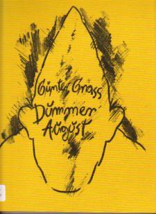 Cubierta de la versión alemana,  Dummer August de Günter Grass
