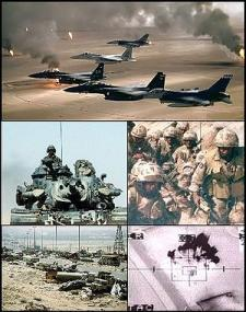 Imágenes de la Guerra del Golfo