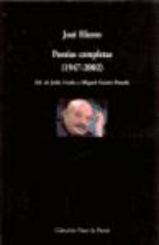 José Hierro: Poesías Completas (Visor, 2009)