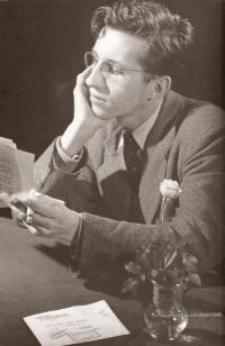 Julio Maruri en 1949 (foto de Ángel de la Hoz)