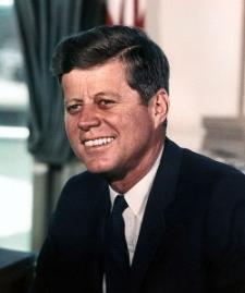 John F. Kennedy, 11-7-1963 (foto de Cecil Stoughton, wikipedia)