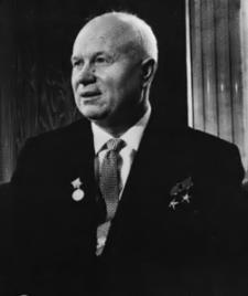 Nikita Kruschev en 1962 (foto wikipedia)
