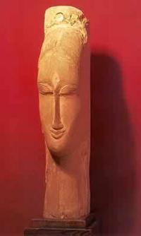 Escultura de Amedeo Modigliani