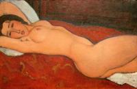 Modigliani: Desnudo (1917)