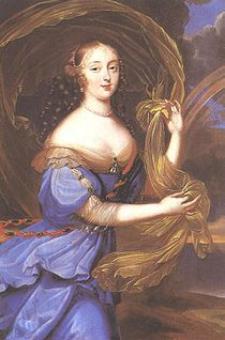 Madame de Montespan en una pintura de su época, de autor desconocido (fuente wikipedia)