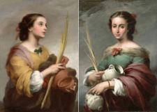 Retratos de Santa Justa y Santa Rufina, depositados en el Meadows Museum