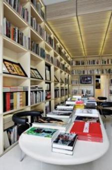 Interior de Ivorypress Art+Book (foto procedente de www.arqhys.com)