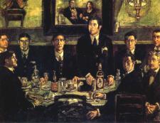 José Gutiérrez Solana: La tertulia de Pombo (1920)