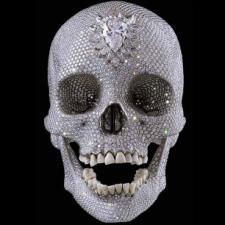 Calavera con diamantes de Danien Hirst