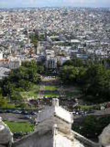 Vista de París desde la Basílica del Sacré Cœur (foto de Gryffindor, wikipedia)