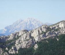 El Pedraforca desde Coll d'Escriu