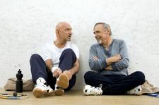 Ben Kingsley y Dennis Hopper