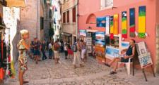Galerías en plena calle