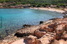 Cabrera: Playa de S'Espalmador (foto propiedad de Eco-Viajes)