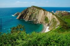 Castañeras (Cudillero) - Playa del Silencio o de El Gavieru (foto propiedad de Eco-Viajes)